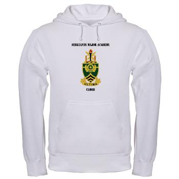 SMAC - A01 - 03 - DUI - Sergeants Major Academy Cadre with Text - Hooded Sweatshirt