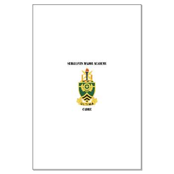 SMAC - M01 - 02 - DUI - Sergeants Major Academy Cadre with Text - Large Poster