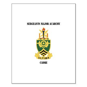SMAC - M01 - 02 - DUI - Sergeants Major Academy Cadre with Text - Small Poster