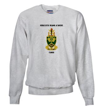 SMAC - A01 - 03 - DUI - Sergeants Major Academy Cadre with Text - Sweatshirt