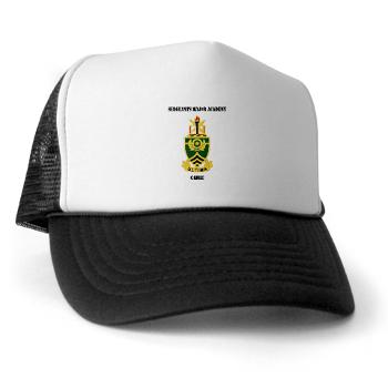 SMAC - A01 - 02 - DUI - Sergeants Major Academy Cadre with Text - Trucker Hat