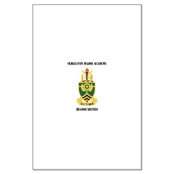 SMAH - M01 - 02 - DUI - Sergeants Major Academy Headquarters with Text - Large Poster