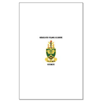 SMAS - M01 - 02 - DUI - Sergeants Major Academy Students with Text - Large Poster