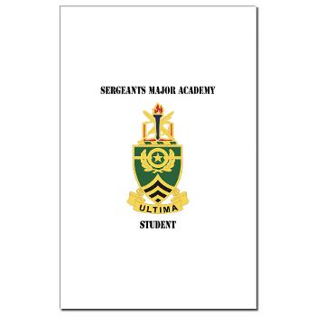 SMAS - M01 - 02 - DUI - Sergeants Major Academy Students with Text - Mini Poster Print