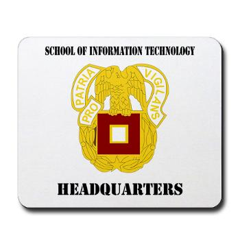 SOITH - M01 - 03 - DUI - School of Information Technology - Headquarter with text - Mousepad