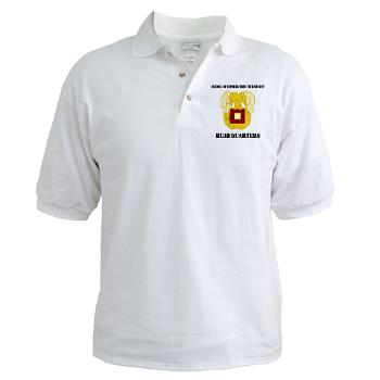 SOITH - A01 - 04 - DUI - School of Information Technology - Headquarter with text - Golf Shirt