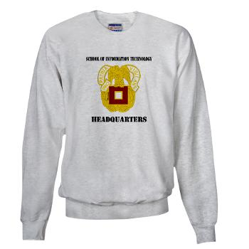 SOITH - A01 - 03 - DUI - School of Information Technology - Headquarter with text - Sweatshirt