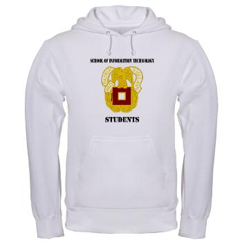 SOITS - A01 - 03 - DUI - School of Information Technology - Students with text - Hooded Sweatshirt