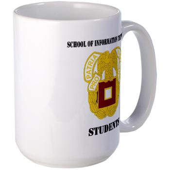 SOITS - M01 - 03 - DUI - School of Information Technology - Students with text - Large Mug