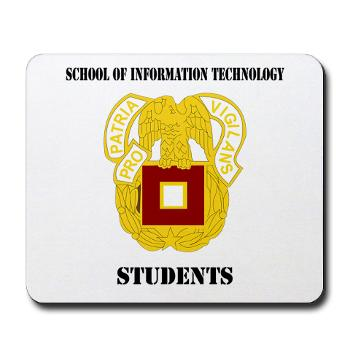 SOITS - M01 - 03 - DUI - School of Information Technology - Students with text - Mousepad