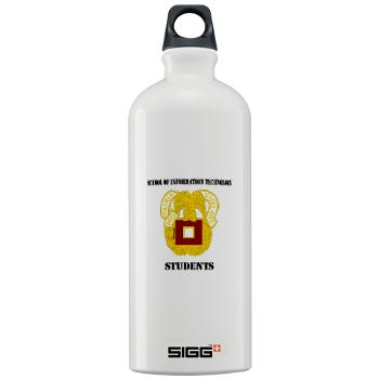 SOITS - M01 - 03 - DUI - School of Information Technology - Students with text - Sigg Water Bottle 1.0L