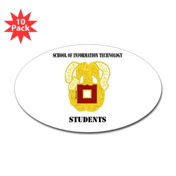 SOITS - M01 - 01 - DUI - School of Information Technology - Students with text - Sticker (Bumper 10 pk)