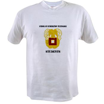 SOITS - A01 - 04 - DUI - School of Information Technology - Students with text - Value T-Shirt