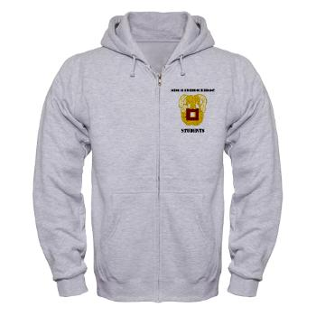 SOITS - A01 - 03 - DUI - School of Information Technology - Students with text - Zip Hoodie