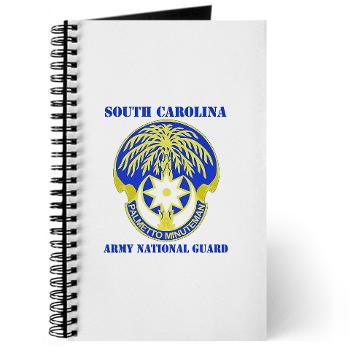 SOUTHCAROLINAARNG - M01 - 02 - DUI - South Carolina Army National Guard With Text - Journal