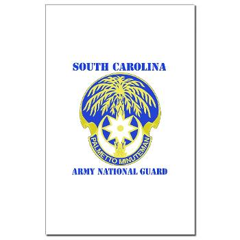 SOUTHCAROLINAARNG - M01 - 02 - DUI - South Carolina Army National Guard With Text - Mini Poster Print