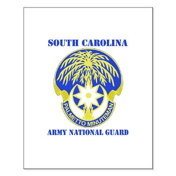 SOUTHCAROLINAARNG - M01 - 02 - DUI - South Carolina Army National Guard With Text - Small Poster