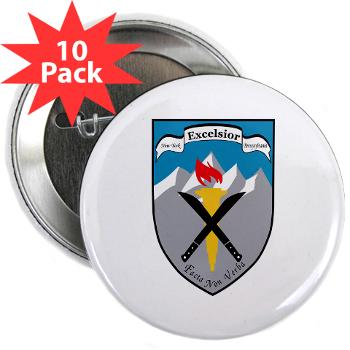 "SRB - M01 - 01 - DUI - Syracuse Recruiting Battalion - 2.25"" Button (10 pack)"