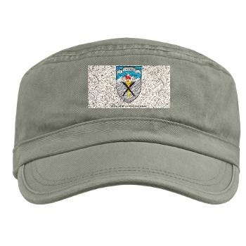 SRB - A01 - 01 - DUI - Syracuse Recruiting Battalion with Text - Military Cap