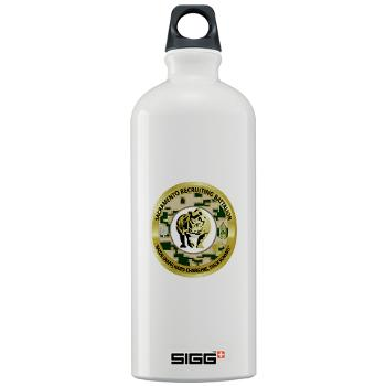 SRB - M01 - 03 - DUI - Sacramento Recruiting Bn - Sigg Water Battle 1.0L