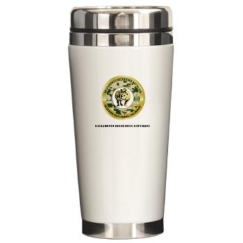 SRB - M01 - 03 - DUI - Sacramento Recruiting Bn with text - Ceramic Travel Mug