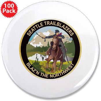 "SRB - M01 - 01 - DUI - Seattle Recruiting Battalion 3.5"" Button (100 pack)"