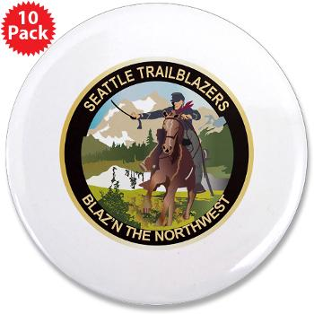 "SRB - M01 - 01 - DUI - Seattle Recruiting Battalion 3.5"" Button (10 pack)"