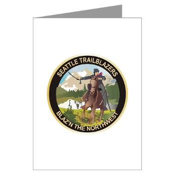 SRB - M01 - 02 - DUI - Seattle Recruiting Battalion Greeting Cards (Pk of 10)