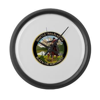 SRB - M01 - 03 - DUI - Seattle Recruiting Battalion Large Wall Clock