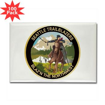 SRB - M01 - 01 - DUI - Seattle Recruiting Battalion Rectangle Magnet (100 pack)