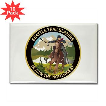 SRB - M01 - 01 - DUI - Seattle Recruiting Battalion Rectangle Magnet (10 pack)