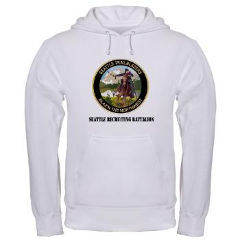 SRB - A01 - 03 - DUI - Seattle Recruiting Battalion with Text Hooded Sweatshirt
