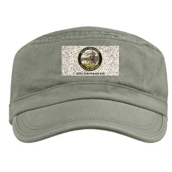 SRB - A01 - 01 - DUI - Seattle Recruiting Battalion with Text Military Cap