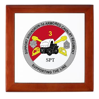 SS3ACR - M01 - 03 - DUI - Support Sqd 3rd ACR - Keepsake Box