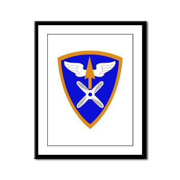 110AB - M01 - 02 - SSI - 110th Aviation Bde Framed Panel Print