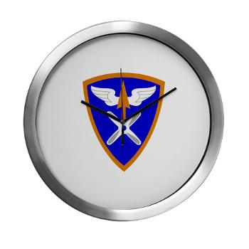 110AB - M01 - 03 - SSI - 110th Aviation Bde Modern Wall Clock