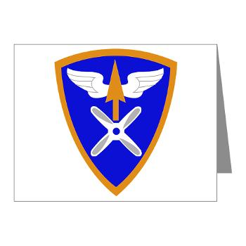 110AB - M01 - 02 - SSI - 110th Aviation Bde Note Cards (Pk of 20)