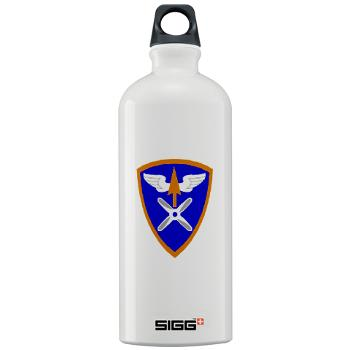 110AB - M01 - 03 - SSI - 110th Aviation Bde Sigg Water Bottle 1.0L