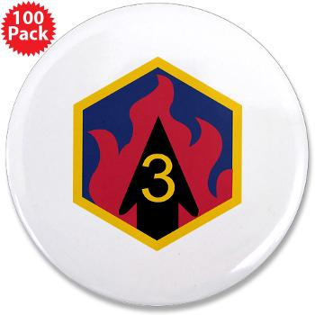 "3CB - M01 - 01 - SSI - 3rd Chemical Bde - 3.5"" Button (100 pack)"