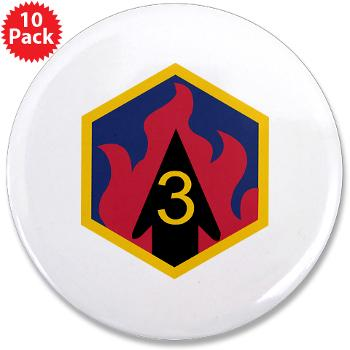 "3CB - M01 - 01 - SSI - 3rd Chemical Bde - 3.5"" Button (10 pack)"