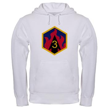 3CB - A01 - 03 - SSI - 3rd Chemical Bde - Hooded Sweatshirt