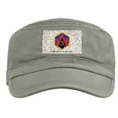 3CB - A01 - 01 - SSI - 3rd Chemical Bde with Text - Military Cap