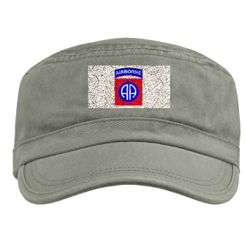 82DV - A01 - 01 - SSI - 82nd Airborne Division Military Cap