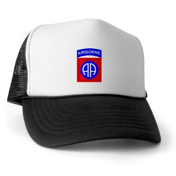 82DV - A01 - 02 - SSI - 82nd Airborne Division Trucker Hat