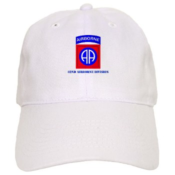 82DV - A01 - 02 - SSI - 82nd Airborne Division with Text Cap