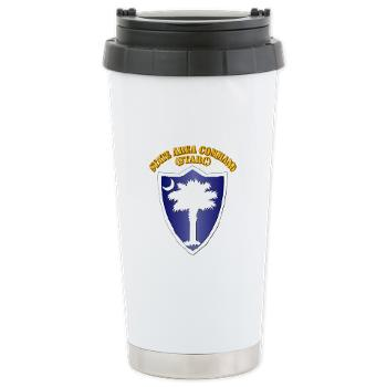 STARC - M01 - 03 - DUI - State Area Command (STARC) with Text - Ceramic Travel Mug