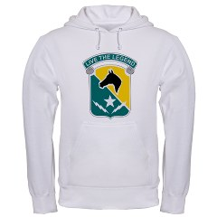 STB - A01 - 03 - DUI - 1st Cav Div - Special Troops Bn - Hooded Sweatshirt