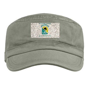 STB - A01 - 01 - DUI - 1st Cav Div - Special Troops Bn with Text - Military Cap