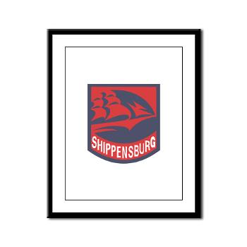 SU - M01 - 02 - SSI - ROTC - Shippensburg University - Framed Panel Print