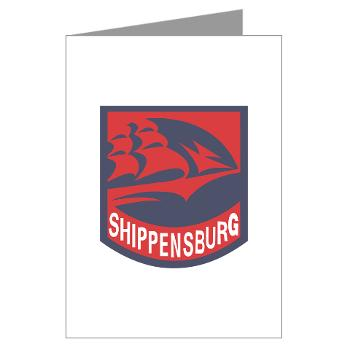 SU - M01 - 02 - SSI - ROTC - Shippensburg University - Greeting Cards (Pk of 10)